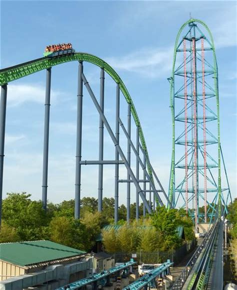 9 Rankers Of The Roller Coaster World by Top 10 Tallest Roller Coasters In America Today