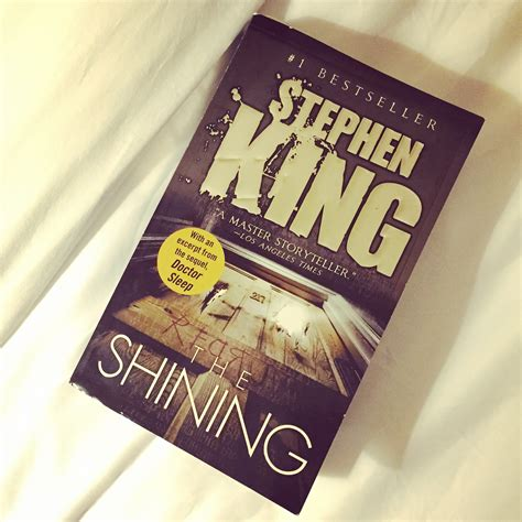 by the book a novel books book review the shining by stephen king hautethought