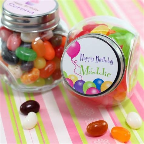Personalized Giveaways For Birthday - personalized birthday mini candy jar favor