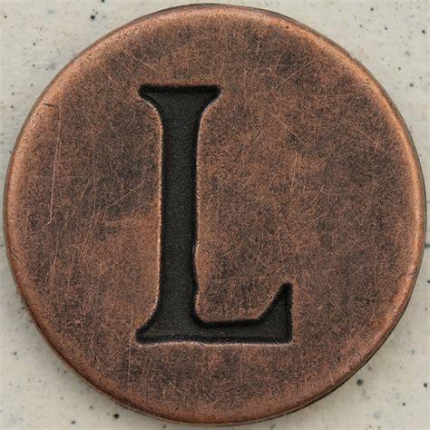 Copper L copper uppercase letter l flickr photo