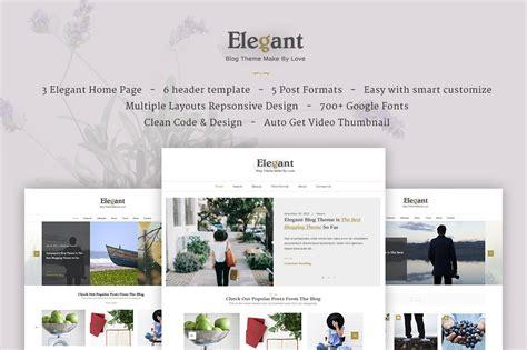 wordpress blog themes elegant elegant clean minimal wordpress blog theme themes