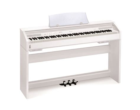 digital piano bench casio px760we white 88 note fully weighted digital piano