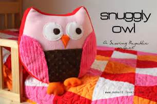 snuggly owl for sewing republic make it and it