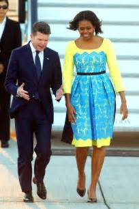 Sun surf amp dreams michelle obama s ladylike london style