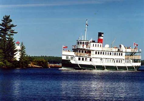 canoes gravenhurst muskoka steamships segwun wenonah ii wedding venues