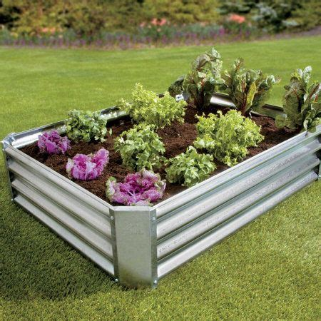galvanized raised garden bed 17 best images about raised bed gardening on pinterest