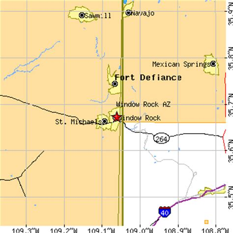 window rock arizona map window rock arizona az population data races