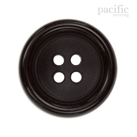 Button Black by Fashion Black Button 4 Holes