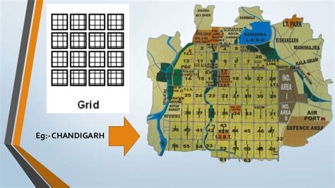 grid pattern of chandigarh road types and road networks
