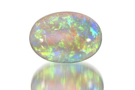 white opal o is for october opals boothbay register