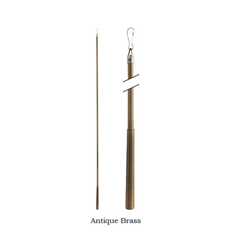 drapery pull rods 36 quot drapery pull rod metal baton fling wand each