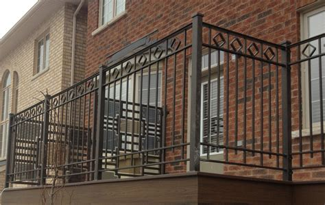 interesting balcony design using wrought iron railing