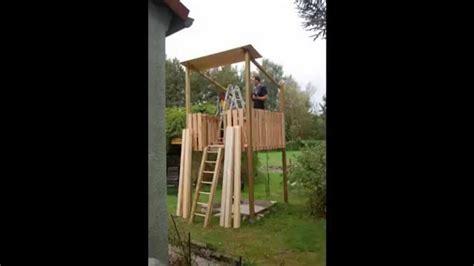 spielturm kletterturm aussichtsturm selbst gebaut