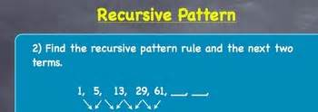 recursive pattern exles grade 6 recursive patterns lesson plan grades 6 12 by mrs