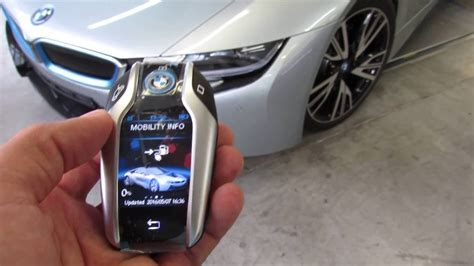 bmw i8 key bmw i8 touchscreen display key fob