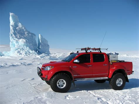 Toyota Hilux Top Gear Arctic Trucks Vehicle Conversions Gear Patrol