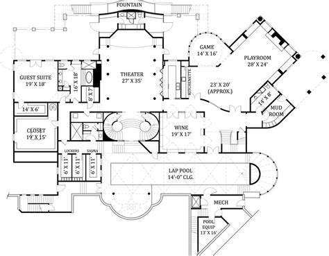 Mansion Floor Plans Castle | english castle floor plans castle house floor plans