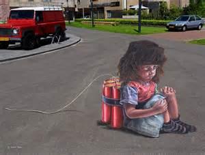 Lego Wall Mural 4d street art at twente biennale 2013 3d streetpainting