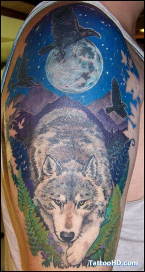 native american wolf tattoo beautiful wolf american tattoos