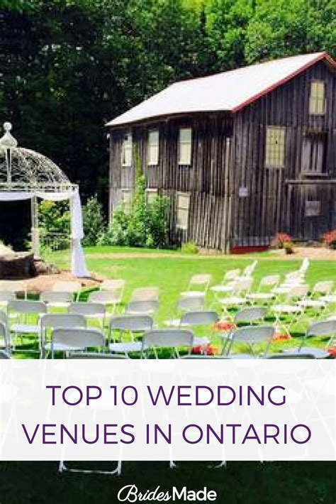 Top 10 Wedding Venues In Ontario   venu   Wedding venues