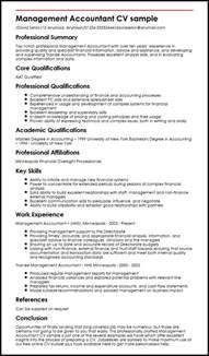 Management Accountant CV sample   MyperfectCV