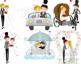 Wedding Vector Free by Vector Wedding Backgrounds With Happy Newlyweds Ai Eps
