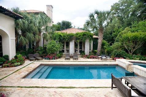 backyard designs with pool pool mediterranean with awesome rectangular pool designs with mediterranean villa