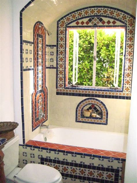 spanish tile bathroom ideas 236 best decorating with talavera tiles images on