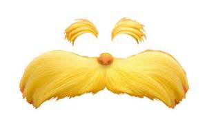 Lorax Template by Lorax Mustache Cut Out Lorax Ified Image Spam Now With