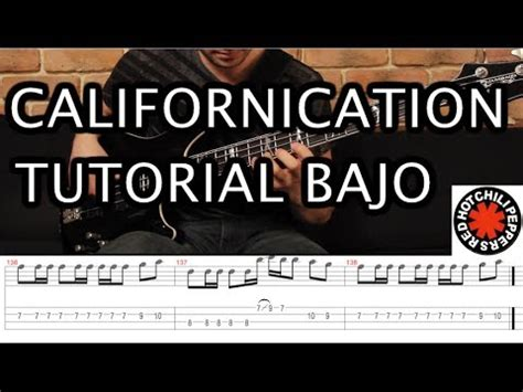 tutorial bajo kiss californication red hot chili peppers aula de contra