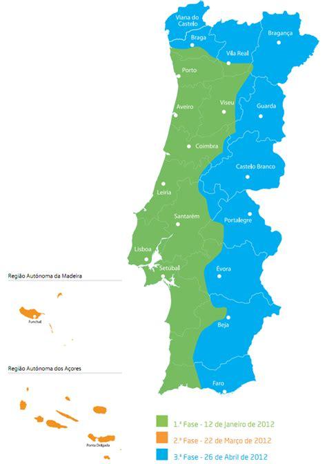 mapa do litoral portugal para o brasil anacom datas a n