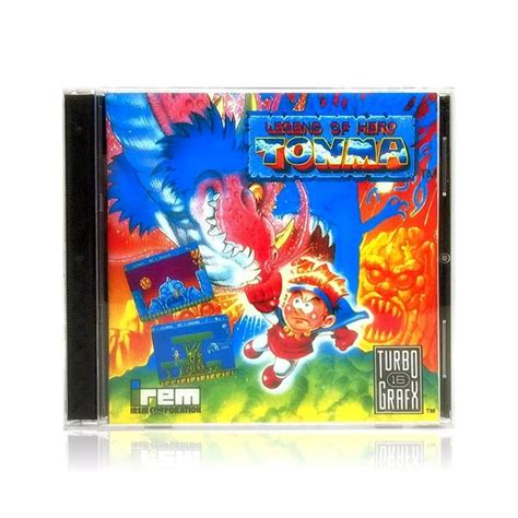 Ready Import Ds The 4 Heroes Of Light Poster legend of tonma reproduction turbografx 16