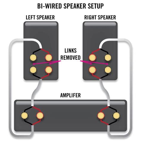how to bi wire and bi your speakers sewelldirect