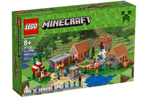 House Building Games lego minecraft quot the village quot 21128 vorgestellt steine