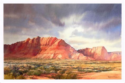 Landscape Paintings Utah Watercolor Workshop Big Skies And Deserts St George