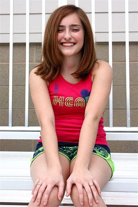 really young teen girl cute free stock photo a cute young girl posing