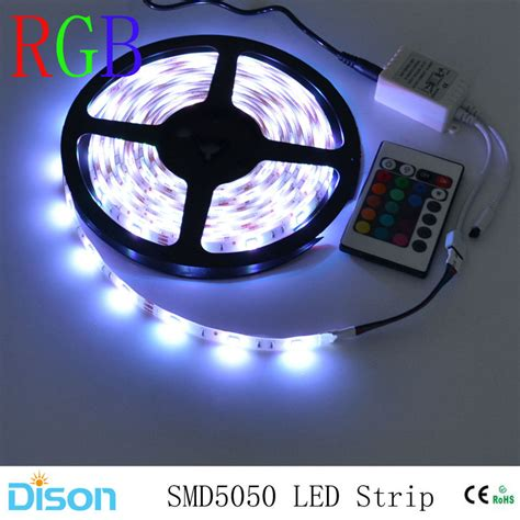 Waterproof 5050 Smd Rgb Led Strip Lighting Flexible Diode Rgb Led Lights Strips