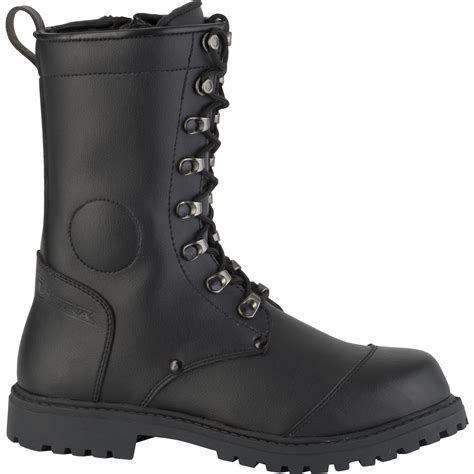Avail Casual Cruiser Black 39 43 diora combat motorcycle boots hipora waterproof breathable
