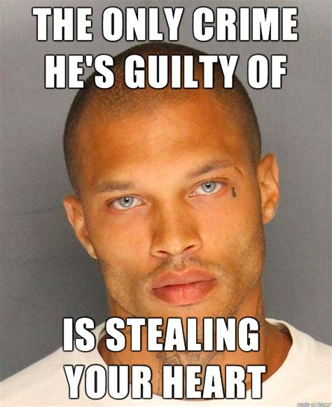 Hot Convict Meme - jeremy meeks modeling deal