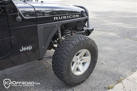 Jeep Wrangler Tj Fenders Jcr Offroad Mauler Narrow Front Fender For 97 06 Jeep