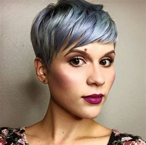 silver pixie hair cut 21 gorgeous short pixie cuts with bangs pretty designs