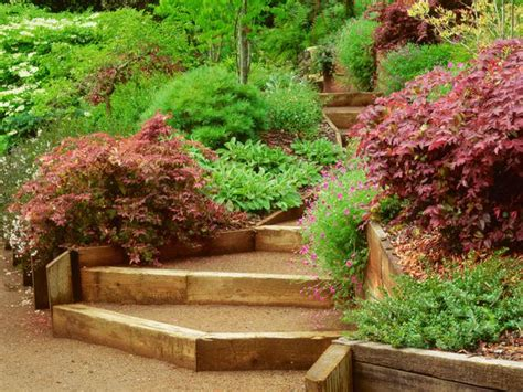 simple landscaping ideas hgtv tips for hillside landscaping hgtv design blog design