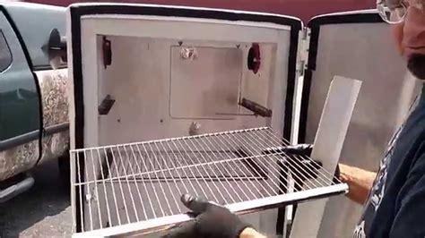convert   refrigerator   pellet smoker