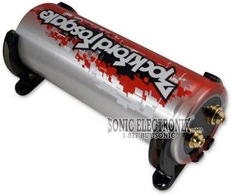 rockford fosgate car audio capacitor rockford fosgate cpc 1003 cpc1003 1 0 farad capacitor