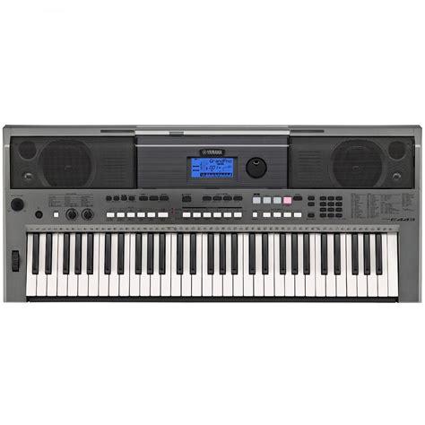 Keyboard Yamaha Usb yamaha psr e443 digital 61 key y e s usb aux in portable keyboard piano new ebay