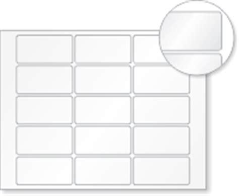 blank printable vinyl blank laser printable vinyl 15 labels sheet 1 5in x 3in