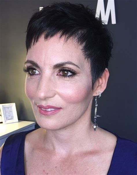 edgy haircuts for 50 year old women pixie cut short edgy hair over 50 short hairstyles