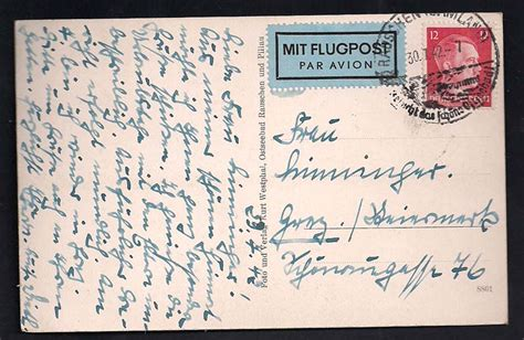 Luftpost Aufkleber Erforderlich by Philaseiten De 192 194 Luftpost Marken Und