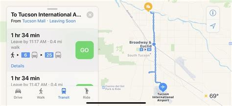Hopstop Subway Directions Now Available For Your Phone by Apple Maps Transit Directions Now Available In Tucson Arizona