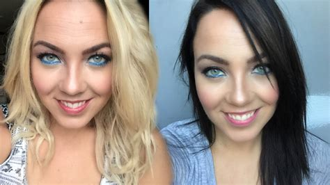 brown hair to blonde hair transformations my at home hair transformation blonde to dark brown